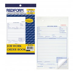 Job Work Order Book