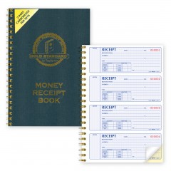Gold Standard - Money Receipt Book