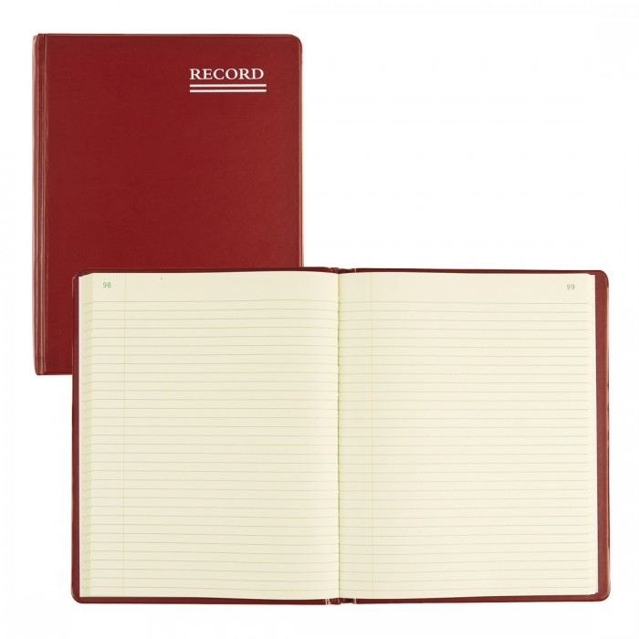 Red Vinyl Series Record Book