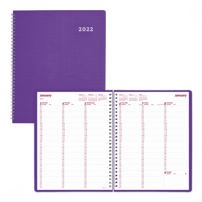 DuraFlex Weekly Appointment Book 2022
