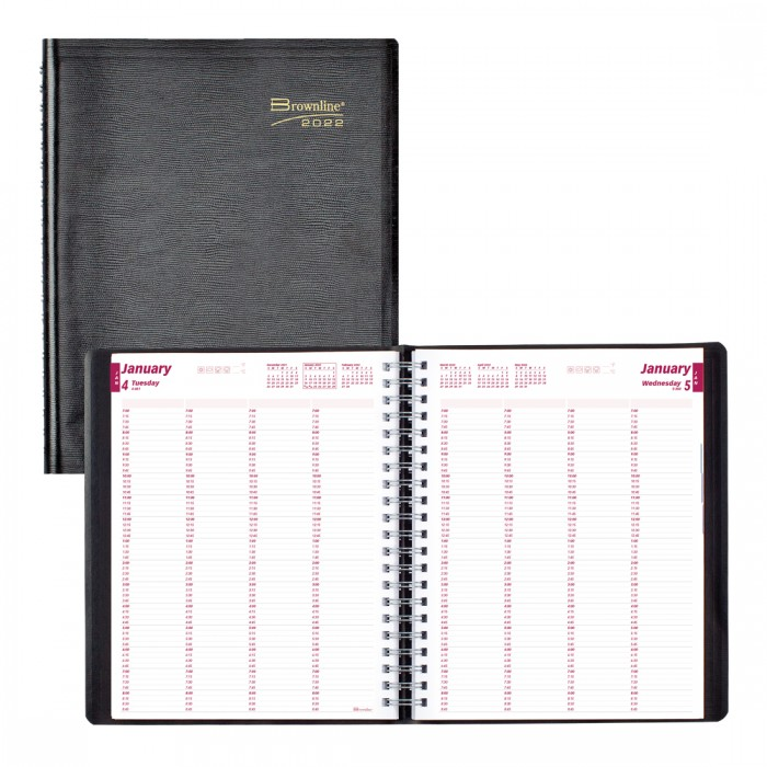 4-Person Daily Appointment Book 2022