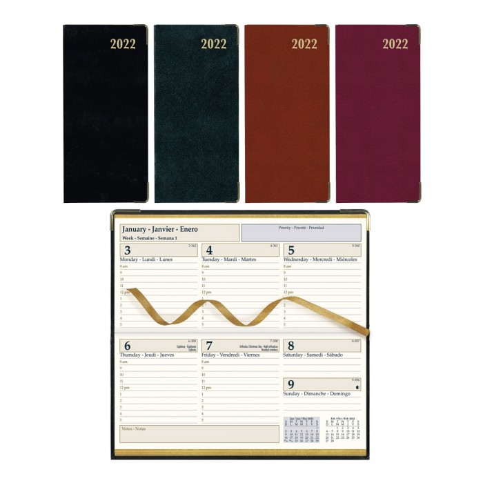 Executive Weekly Pocket Planner 2020