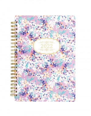 Bloom A5 Week to View Diary 2022