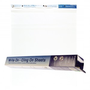 """""""Write on-Cling on"""" Sheets"""