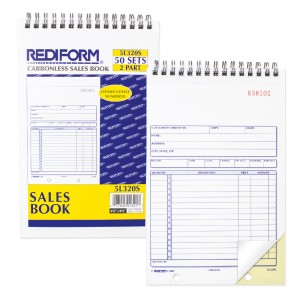 Sales Book (Wirebound)