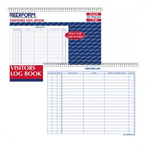 Visitors Log Book
