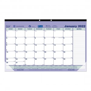Desk Pad or Wall Calendar 2020