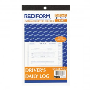 Driver's Daily Log Book