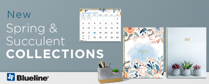 Spring and Succulent Planners